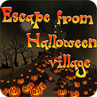 Jogo Escape From Halloween Village