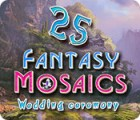 Jogo Fantasy Mosaics 25: Wedding Ceremony
