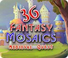 Jogo Fantasy Mosaics 36: Medieval Quest
