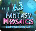 Jogo Fantasy Mosaics 43: Haunted Forest