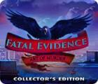 Jogo Fatal Evidence: Art of Murder Collector's Edition