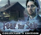 Jogo Fear for Sale: Tiny Terrors Collector's Edition