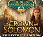 Jogo Hidden Expedition: The Crown of Solomon Collector's Edition
