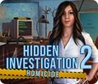 Jogo Hidden Investigation 2: Homicide