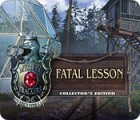 Jogo Mystery Trackers: Fatal Lesson Collector's Edition