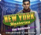 Jogo New York Mysteries: The Outbreak Collector's Edition