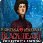 Jogo Nightfall Mysteries: Black Heart Collector's Edition