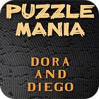 Jogo Puzzlemania. Dora and Diego