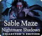 Jogo Sable Maze: Nightmare Shadows Collector's Edition