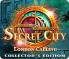 Jogo Secret City: London Calling Collector's Edition