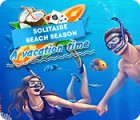 Jogo Solitaire Beach Season: A Vacation Time