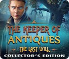 Jogo The Keeper of Antiques: The Last Will Collector's Edition
