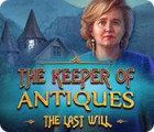 Jogo The Keeper of Antiques: The Last Will