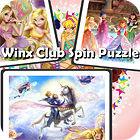 Jogo Winx Club Spin Puzzle