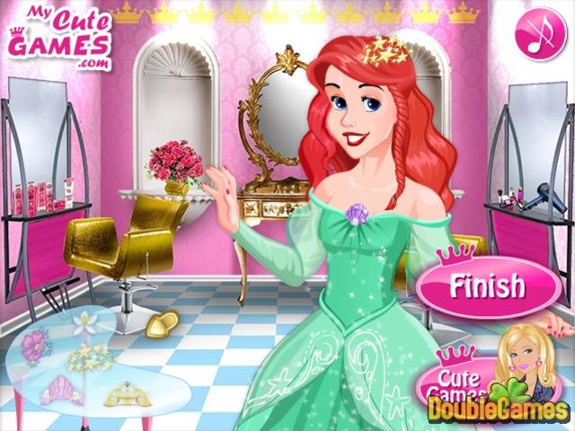 Jogo Barbie em um salão de beleza online. Jogar gratis
