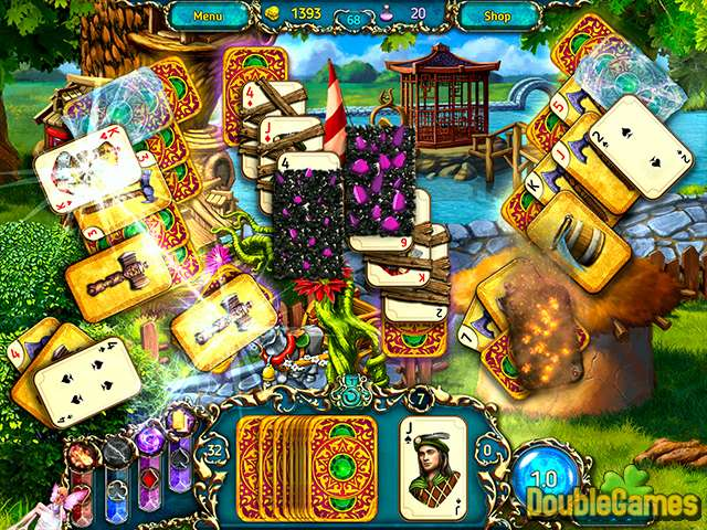 Free Download Dreamland Solitaire: Dragon's Fury Screenshot 3
