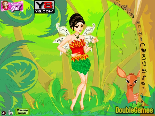 Free Download Forest Fairy Dress-Up Screenshot 3