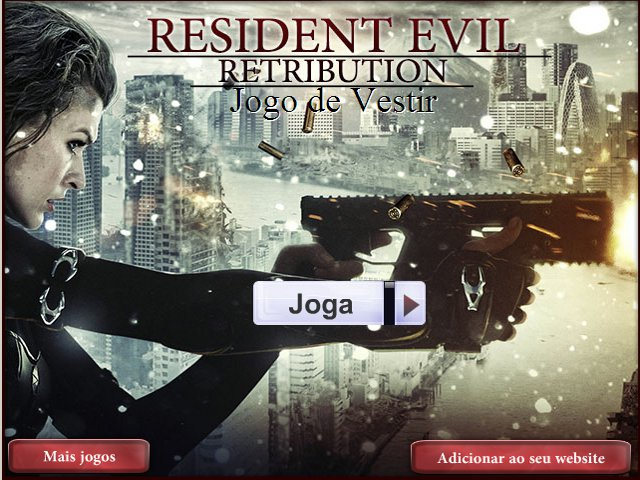 Free Download Resident Evil 5. Jogo de Vestir Screenshot 1