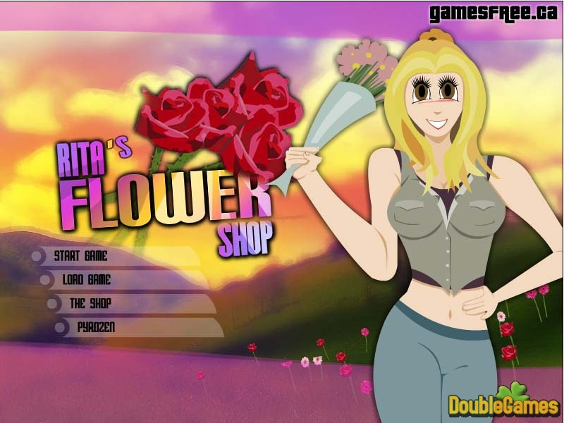 Free Download Rita's Flower Shop Screenshot 1