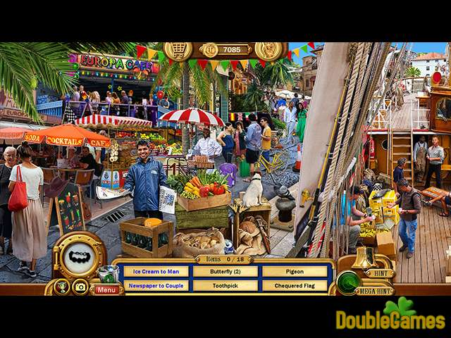 Imagens para download gratuito de Vacation Adventures: Cruise Director 7 Collector's Edition 3